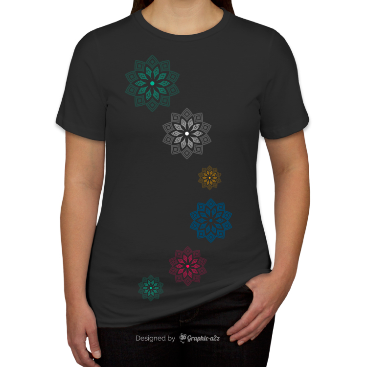 Canvas Women's Jersey T-shirt vector design