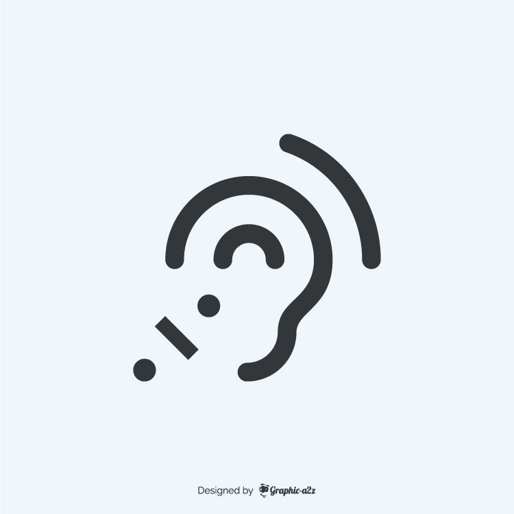 Assistive listening systems fill icon