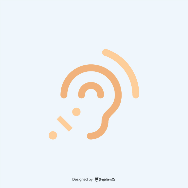 Assistive listening systems flat icon