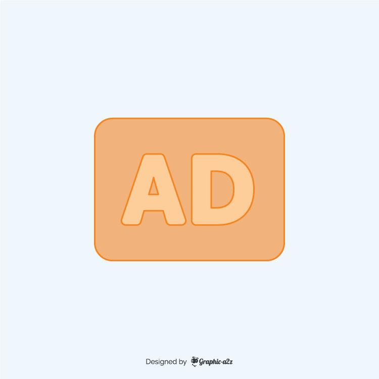 Audio description lineal color icon vector