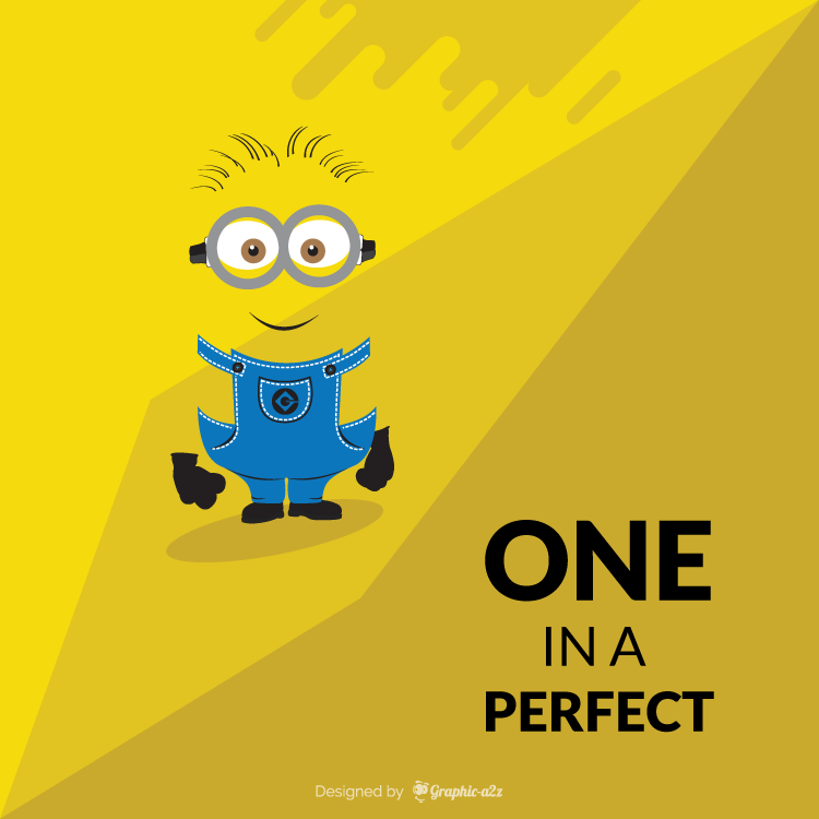 Minion yellow color background free vector