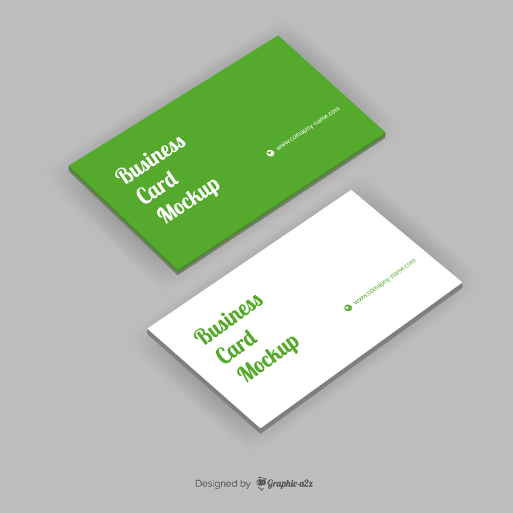Business card mockup on Graphica2z