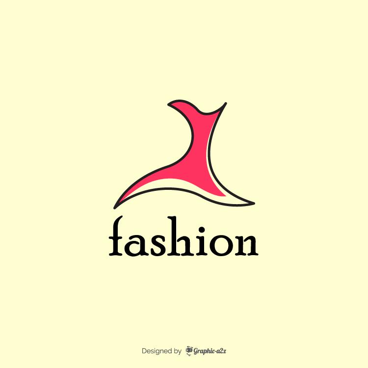 Fashion logo on graphic a2z