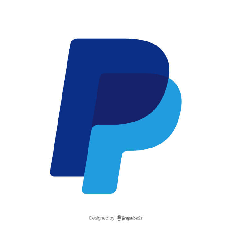 PayPal icon vector graphic